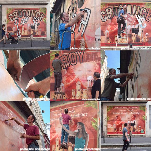 mural CROYANCE